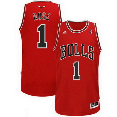canotta nba derrick rose 1 chicago bulls rev30 rosso