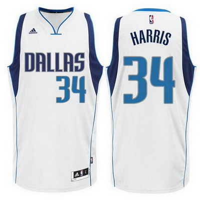 canotta devin harris 34 dallas mavericks bianca