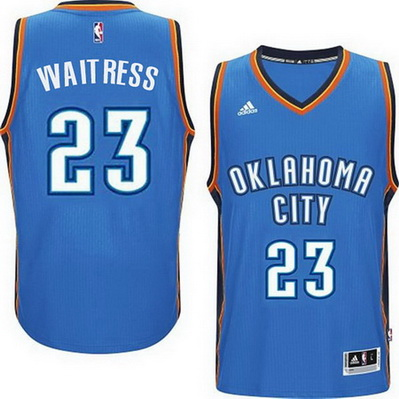 maglia nba dion waiters 23 2015 oklahoma city thunder blu