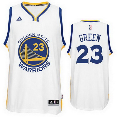 maglia nba draymond green 23 golden state warriors bianca