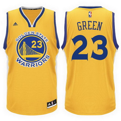 maglia basket draymond green 23 golden state warriors giallo