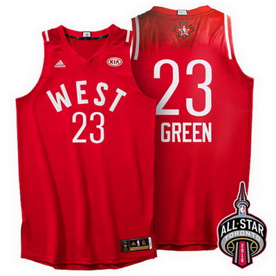 maglie basket draymond green 23 nba all star 2016 rosso