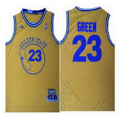 maglia draymond green 23 retro golden state warriors giallo