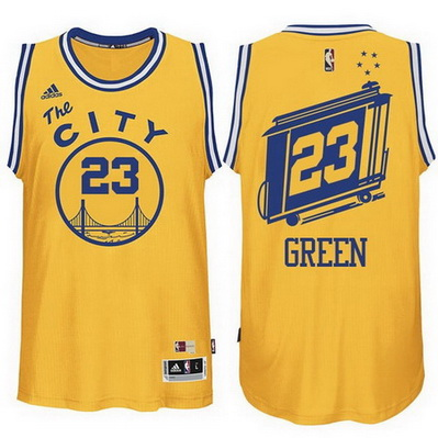 canotta nba draymond green 23 retro golden state warriors the city