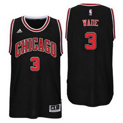 canotta nba dwyane wade 3 chicago bulls rev30 nero
