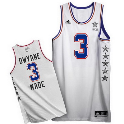 canotta uomo dwyane wade 3 nba all star 2015 bianca