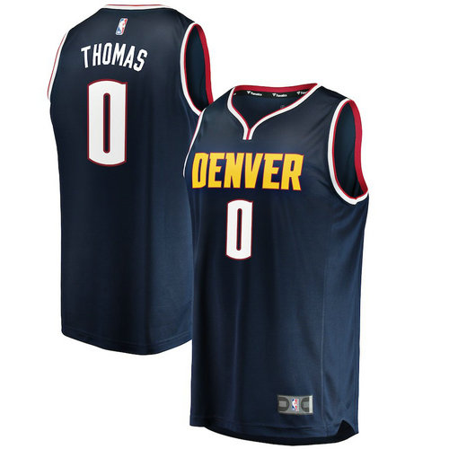 Denver Nuggets 2018: Divise Denver Nuggets:maglia Nba Emmanuel Mudiay 0 2018