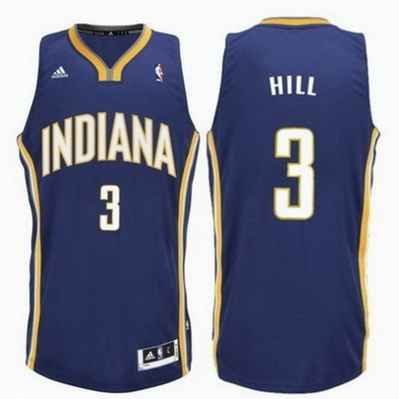 maglia nba george hill 3 indiana pacers rev30 blu