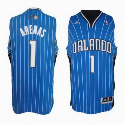 maglia nba gilbert arenas 1 orlando magic rev30 blu