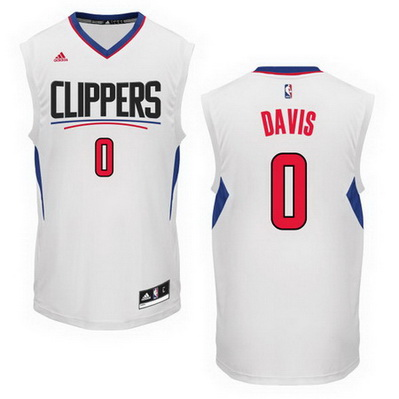 maglia basket glen davis 0 2016 los angeles clippers bianca