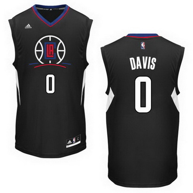 canotta basket glen davis 0 los angeles clippers nero