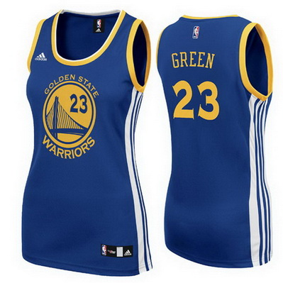 canotte nba donne golden state warriors draymond green 23 blu