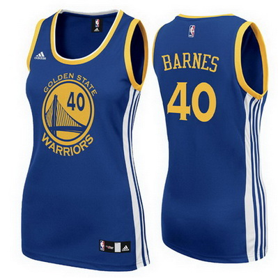 maglia nba donna golden state warriors harrison barnes 40 blu