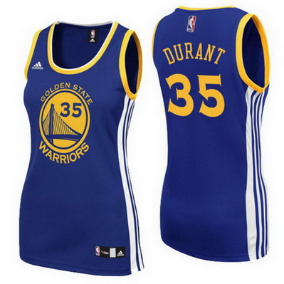 canotte basket donne golden state warriors kevin durant 35 blu