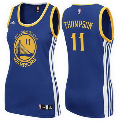 maglia basketa donna golden state warriors klay thompson 11 blu