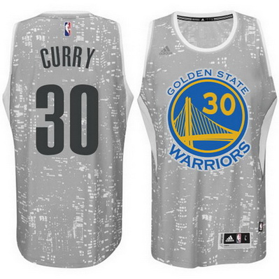 canotta basket golden state warriors stephen curry 30 lights grigio