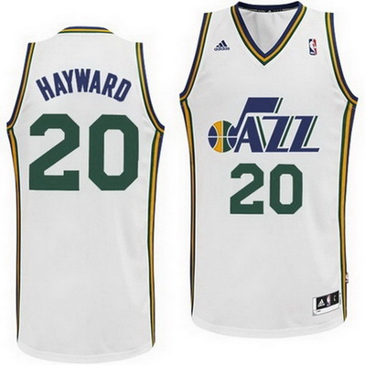 canotta basket gordon hayward 20 utah jazz rev30 bianca