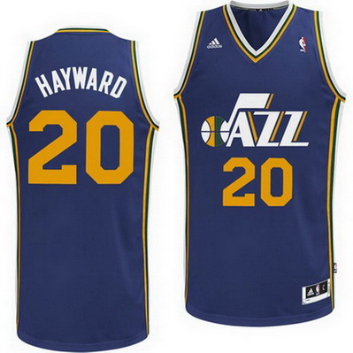 maglia basket gordon hayward 20 utah jazz rev30 marina
