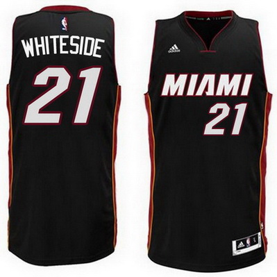 canotta basket hassan whiteside 21 2015 miami heat nero