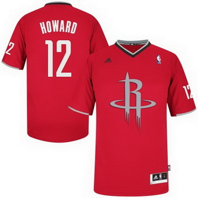 canotta nba houston rockets natale 2013 dwight howard 12 rosso