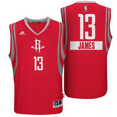 canotta basket houston rockets natale 2014 james harden 13 rosso