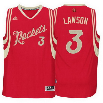 maglie uomo nba houston rockets natale 2015 ty lawson 3 rosso