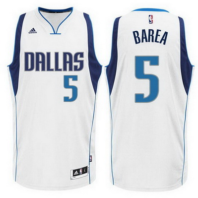 canotta basket j.j. barea 5 dallas mavericks rev30 bianca