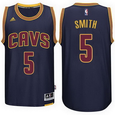 maglia basket jr smith 5 2015 cleveland cavaliers blu