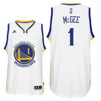 canotta basket javale mcgee 1 2016 golden state warriors bianca