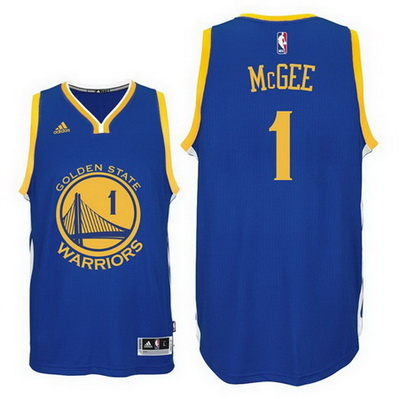 maglia basket javale mcgee 1 2016 golden state warriors blu