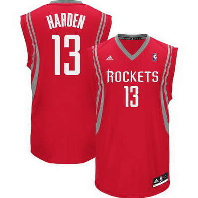 canotta nba james harden 13 houston rockets rev30 rosso