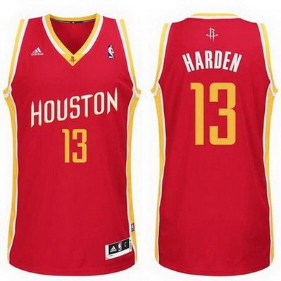 canotta basket james harden 13 retro houston rockets rosso