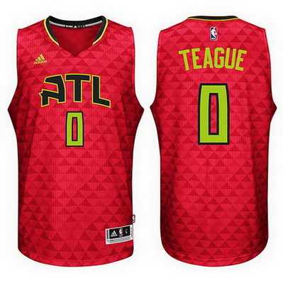 canotta basket jeff teague 0 2016 atlanta hawks rev30 rosso