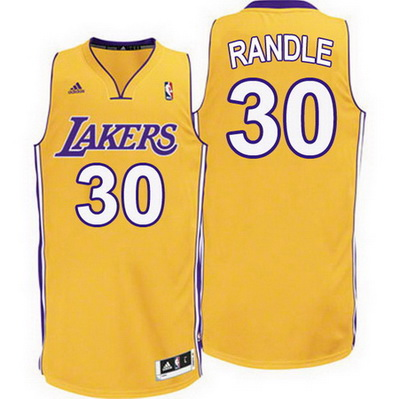 maglia julius randle 30 los angeles lakers rev30 giallo