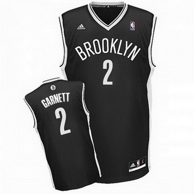 canotta kevin garnett 2 brooklyn nets rev30 nero