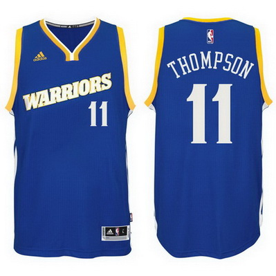 canotta klay thompson 11 2016-2017 golden state warriors blu