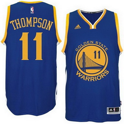 maglia uomo klay thompson 11 golden state warriors blu
