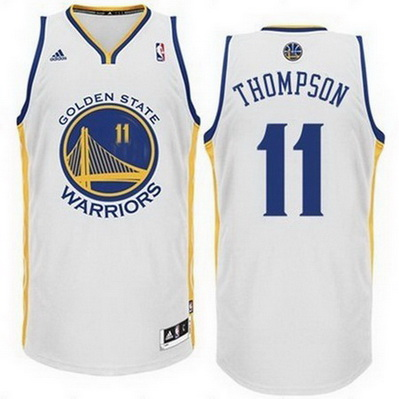 canotta basket klay thompson 11 golden state warriors rev30 bianca