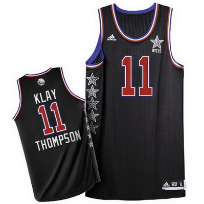 canotta uomo klay thompson 11 nba all star 2015 nero