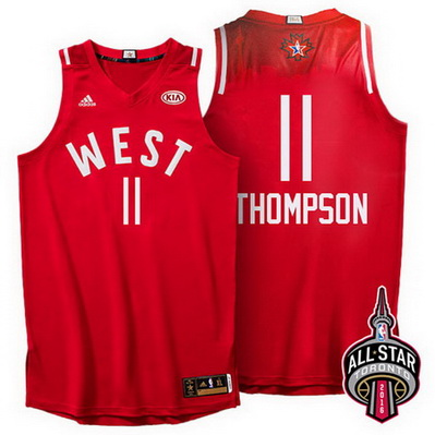 maglie uomo klay thompson 11 nba all star 2016 rosso
