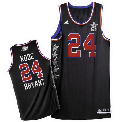 maglia basket kobe bryant 24 nba all star 2015 nero