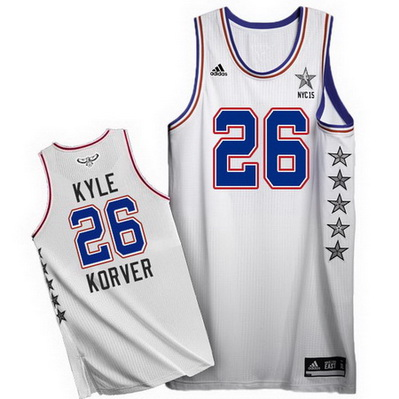 canotta basket kyle korver 26 nba all star 2015 bianca
