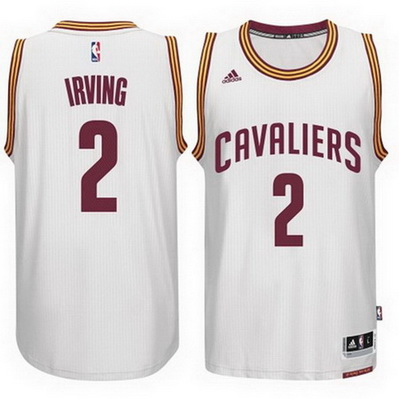 maglia basket kyrie irving 2 2015 cleveland cavaliers bianca