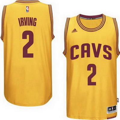 maglia kyrie irving 2 2015 cleveland cavaliers giallo