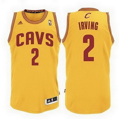 canotta kyrie irving 2 cleveland cavaliers rev30 giallo