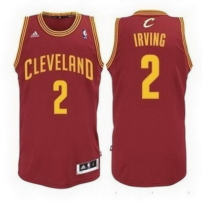 canotta nba kyrie irving 2 cleveland cavaliers rev30 rosso
