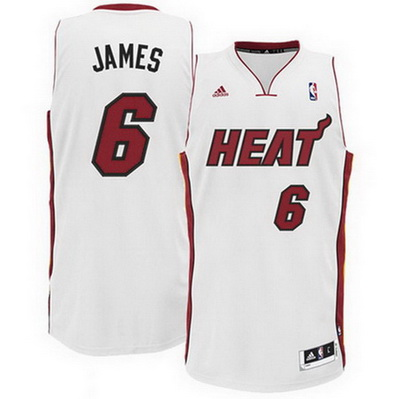 canotta basket lebron james 6 miami heat rev30 bianca
