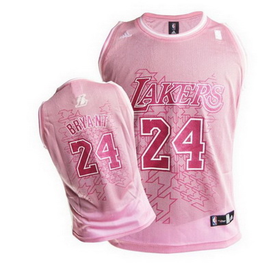 canotte basket donne los angeles lakers kobe bryant 24 rosa