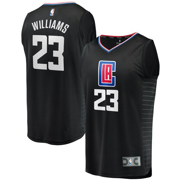 maglia nba lou williams 23 2020 los angeles clippers nero