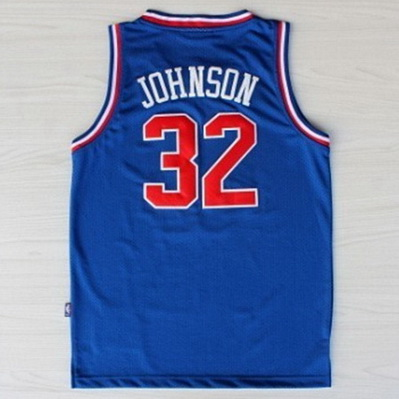 canotte basket magic johnson nba all star 1992 blu
